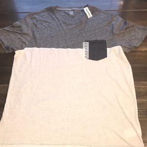 Men's Old Navy Grey Pocket T-Shirt